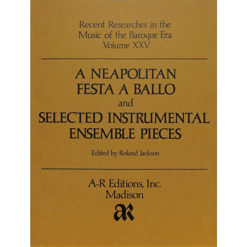 Titelbild für AREDITION -B025 - A neapolitan festa a ballo +