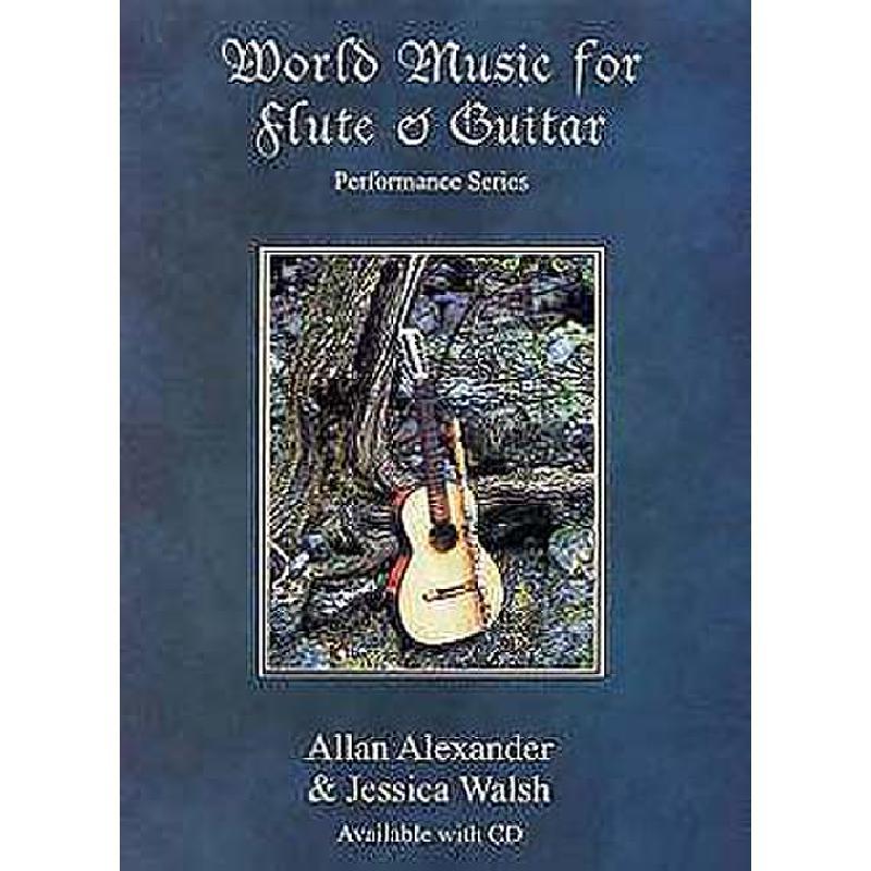 Titelbild für ADG 047 - WORLD MUSIC FOR FLUTE & GUITAR