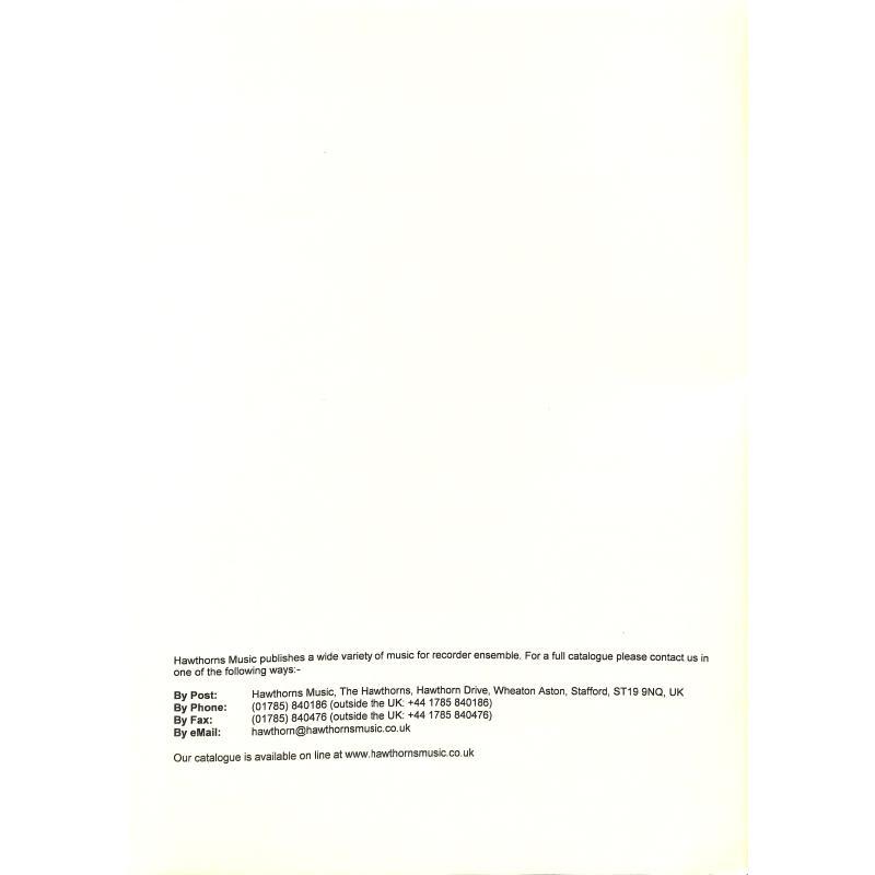 Notenbild für HAWTHORN -RA90 - CONCERT WALTZ