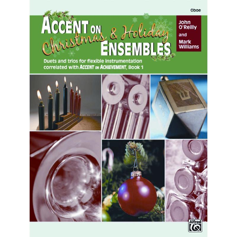 Titelbild für ALF 22228 - ACCENT ON ENSEMBLES - CHRISTMAS + HOLIDAY