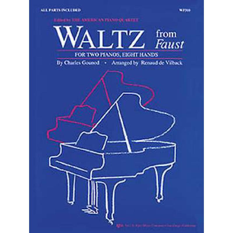 Titelbild für KJOS -WP310 - WALTZ (FAUST)