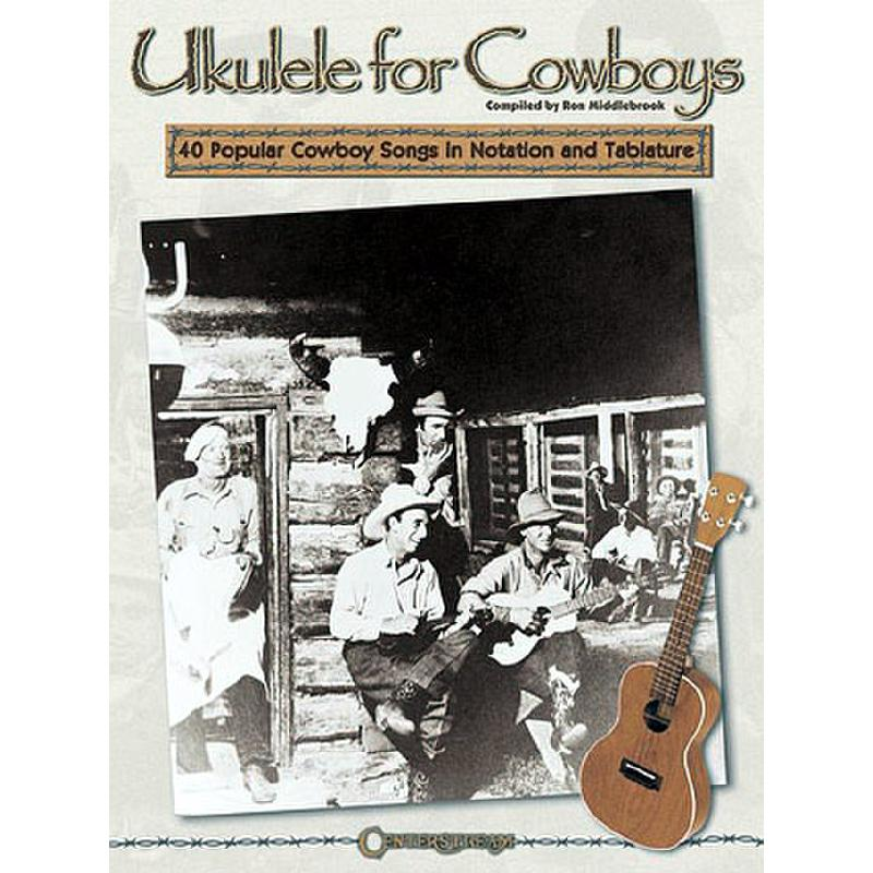 Titelbild für HL 408 - UKULELE FOR COWBOYS