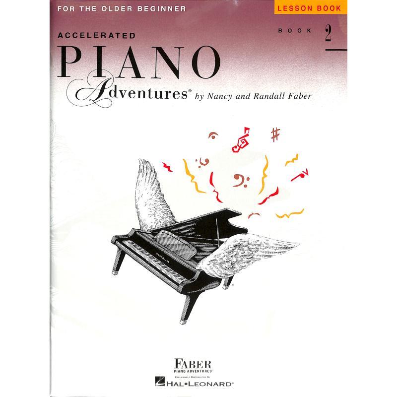 Titelbild für FJH 1210 - ACCELERATED PIANO ADVENTURES 2