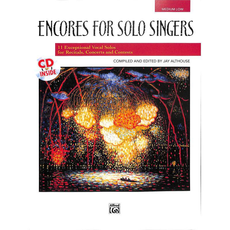 Titelbild für ALF 21834 - ENCORES FOR SOLO SINGERS (MEDIUM LOW)