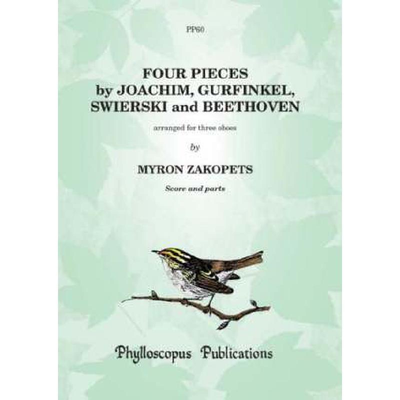 Titelbild für PHYLL -PP60 - 4 PIECES BY JOACHIM GURFINKEL SWIERSKI + BEETHOVEN