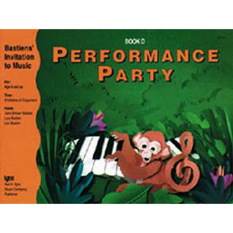 Titelbild für KJOS -WP281 - PERFORMANCE PARTY D