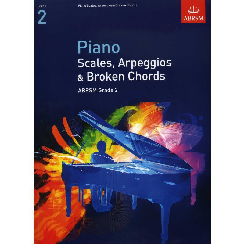 Titelbild für 978-1-86096-914-0 - SCALES ARPEGGIOS + BROKEN CHORDS 2