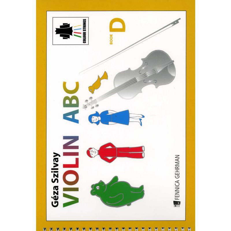 Titelbild für FENNICA 328-7 - Colourstrings Violin ABC Book D