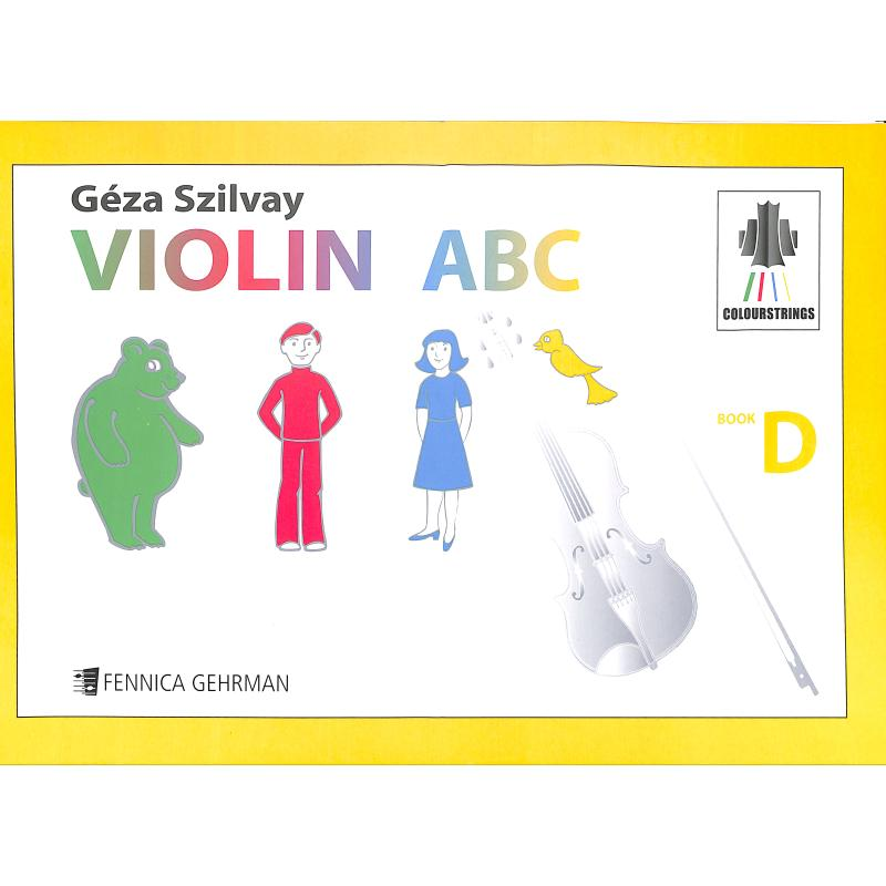 Notenbild für FENNICA 328-7 - Colourstrings Violin ABC Book D