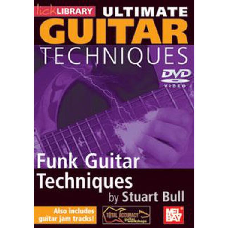 Titelbild für RDR 0194 - ULTIMATE GUITAR TECHNIQUES - FUNK GUITAR TECHNIQUES