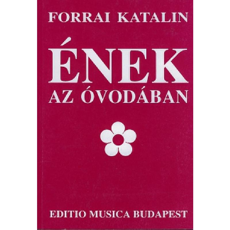 Titelbild für EMB 6978 - ENEK AZ OVODABAN - SONGS IN THE KINDERGARTEN