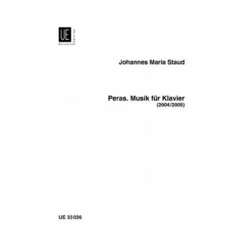Titelbild für UE 33039 - PERAS