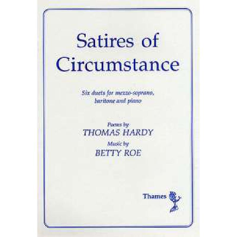Titelbild für THAMES 978369 - SATIRES OF CIRCUMSTANCE
