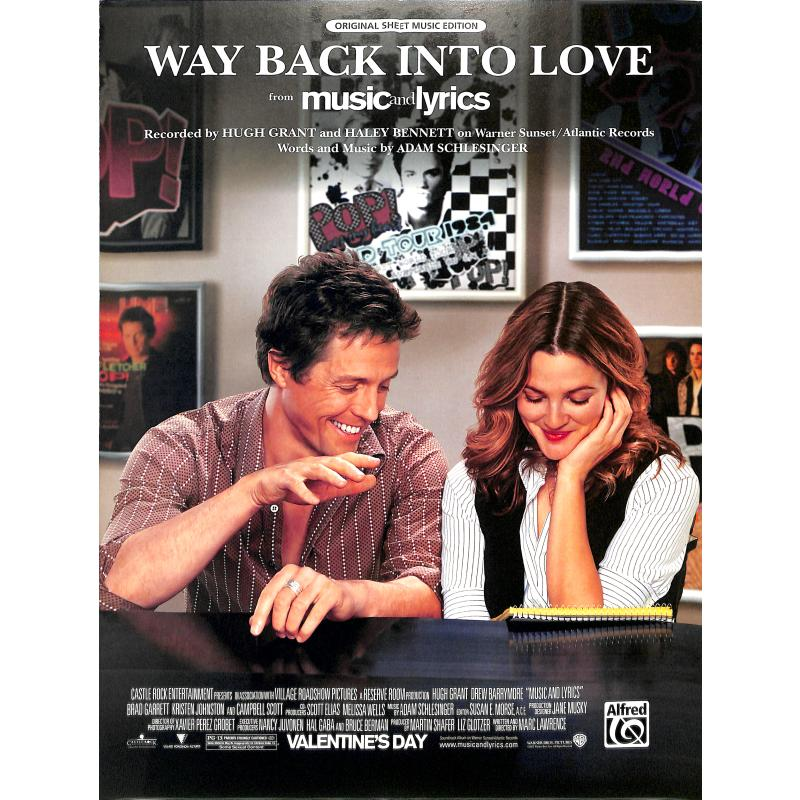 Titelbild für ALF 27803 - WAY BACK INTO LOVE