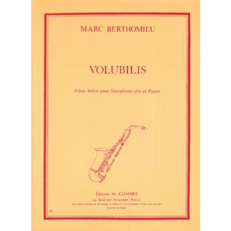 Titelbild für COMBRE 5024 - VOLUBILIS