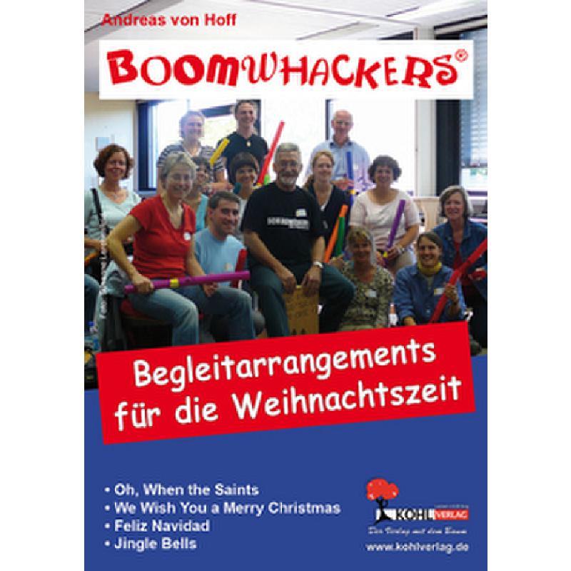 Titelbild für KOHL 10856 - BOOMWHACKERS - BEGLEITARRANGEMENTS FUER DIE WEIHNACHTSZEIT