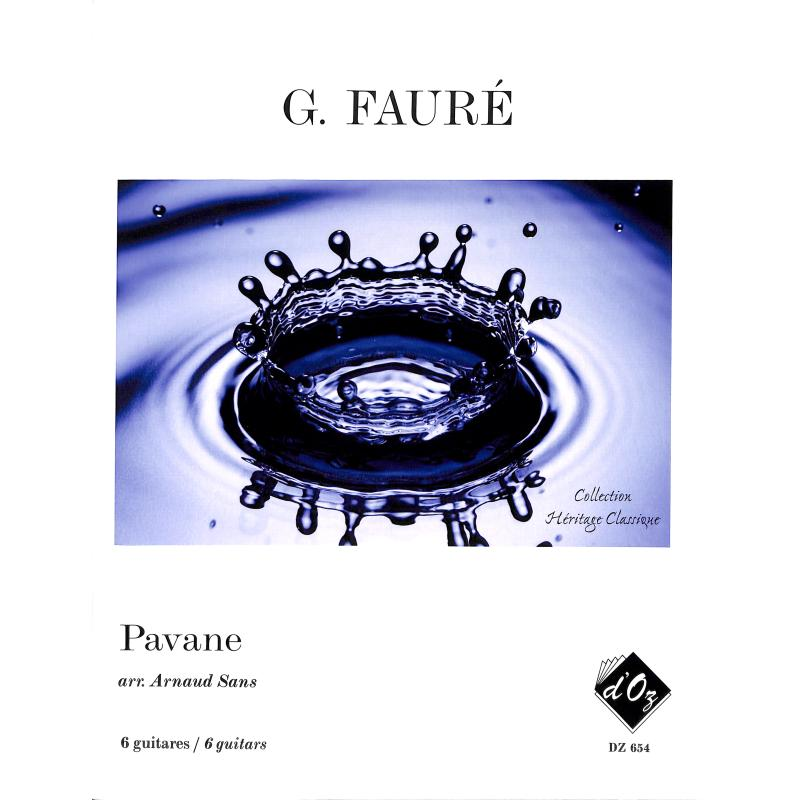 Titelbild für DOZ 654 - PAVANE OP 50