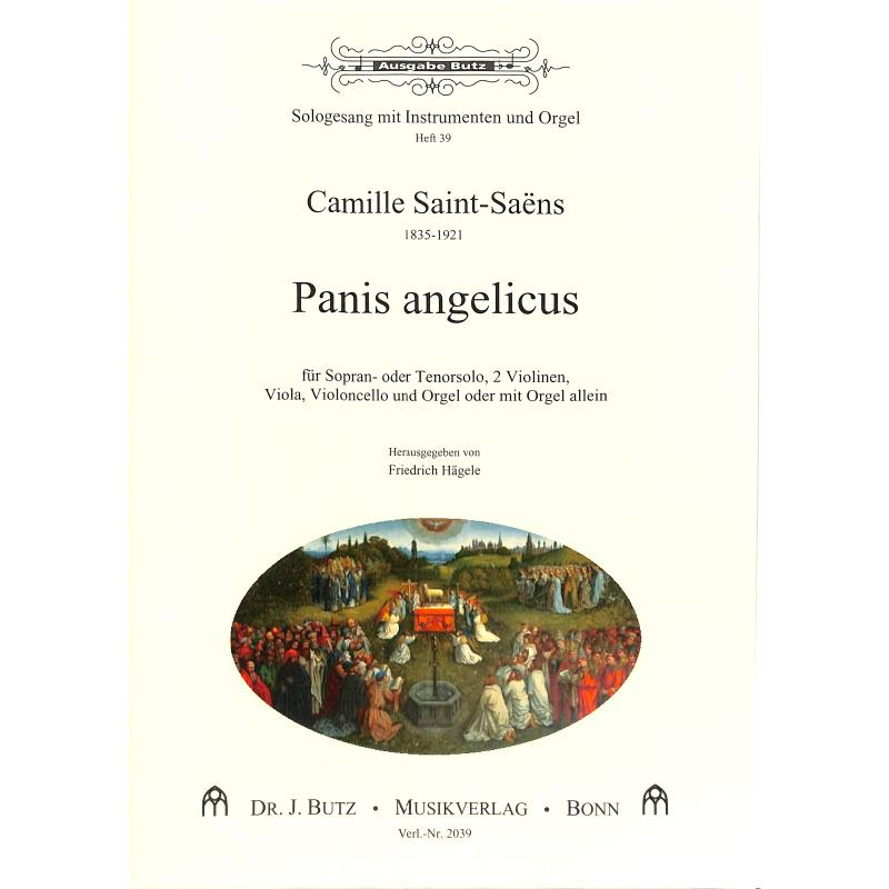 Titelbild für BUTZ 2039 - PANIS ANGELICUS