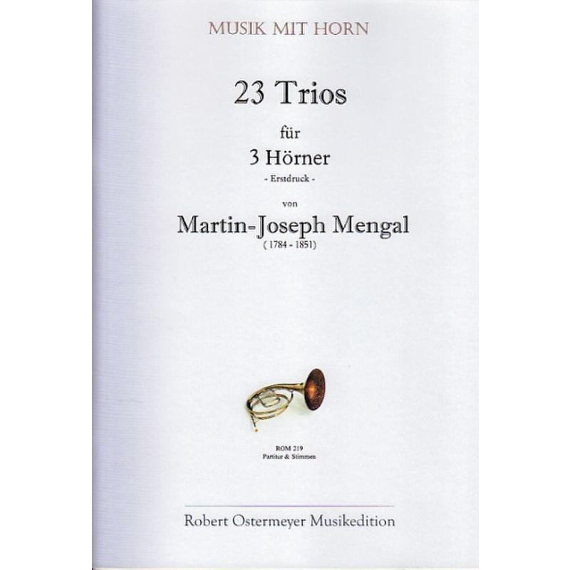Titelbild für ROM 219 - 23 TRIOS
