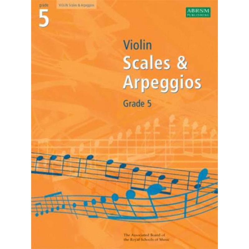Titelbild für ABRSM 8976 - VIOLIN SCALES + ARPEGGIOS 8