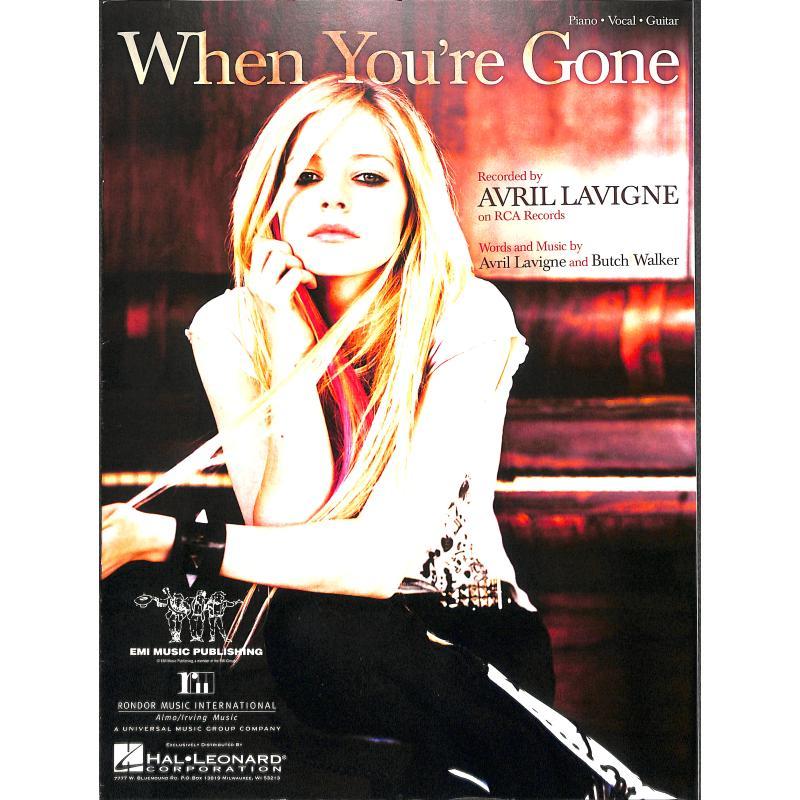 Titelbild für HL 353676 - WHEN YOU'RE GONE