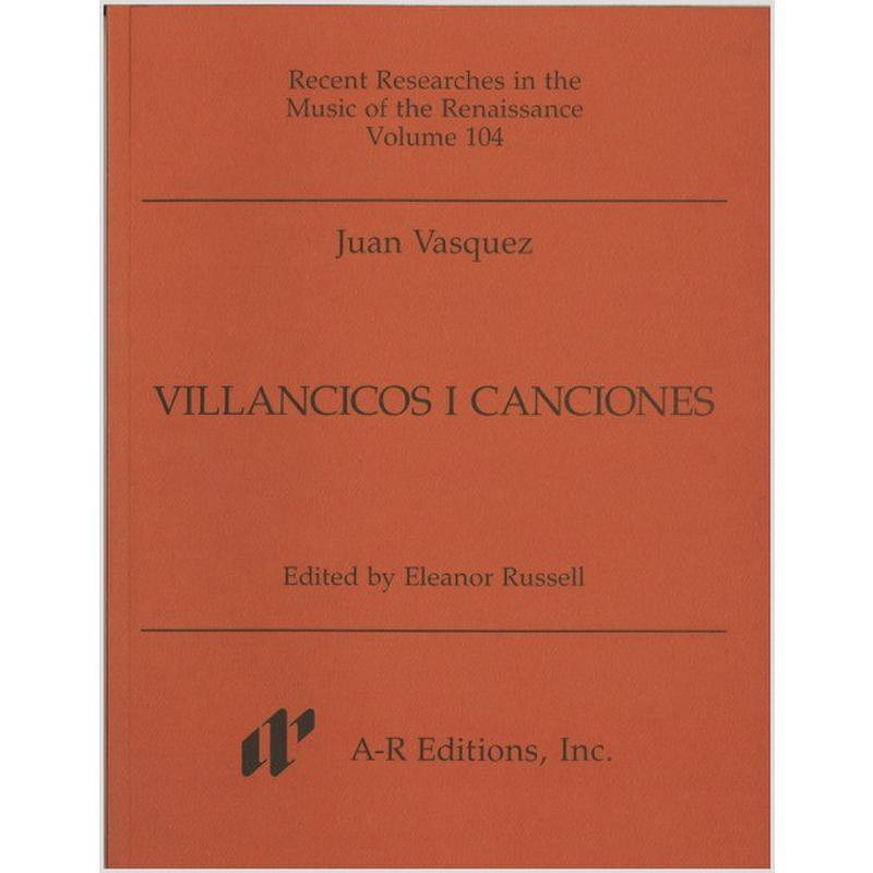 Titelbild für AREDITION -R104 - VILLANCICOS I CANCIONES