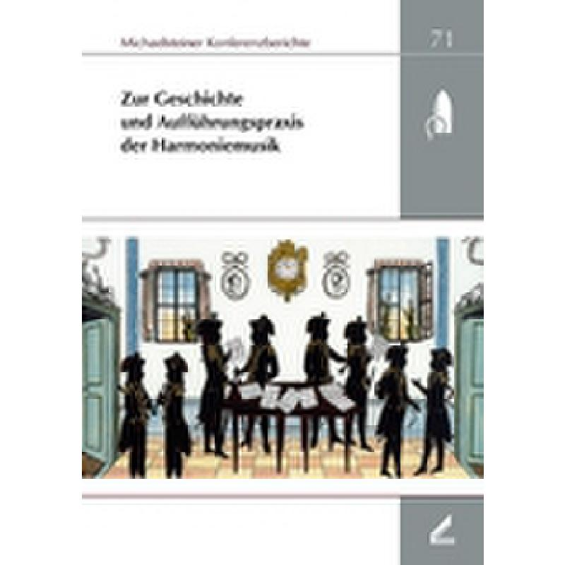 Titelbild für 978-3-89639-547-4 - ZUR GESCHICHTE DER AUFFUEHRUNGSPRAXIS DER HARMONIEMUSIK