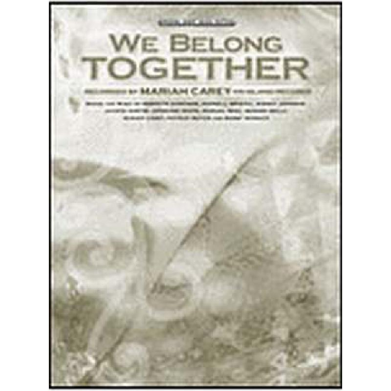 Titelbild für PVM 05033 - WE BELONG TOGETHER