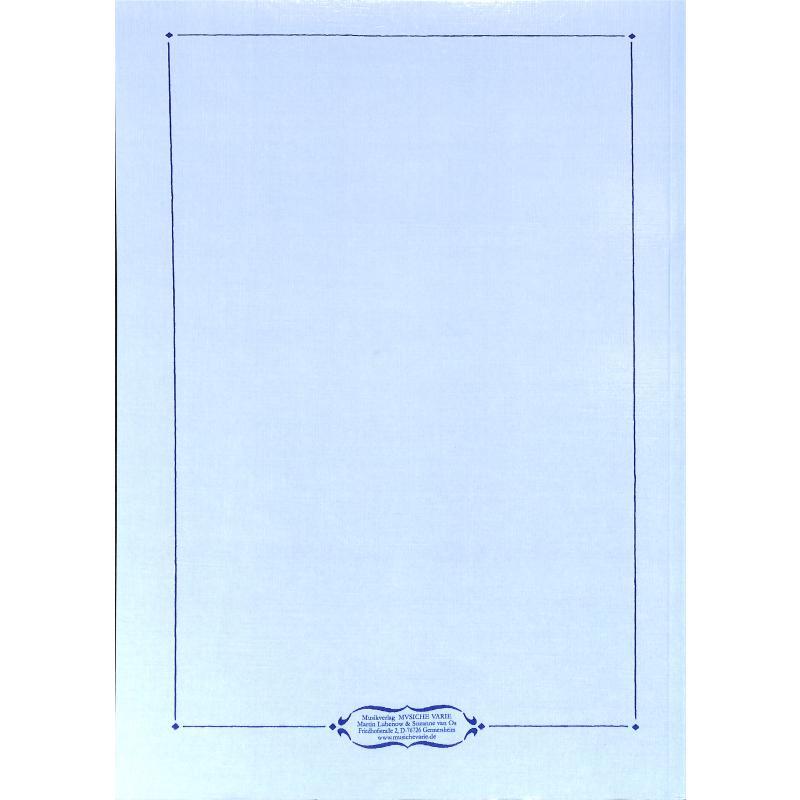 Notenbild für VARIE -MO-1001A - VESPRO DELLA BEATA VERGINE - MARIENVESPER