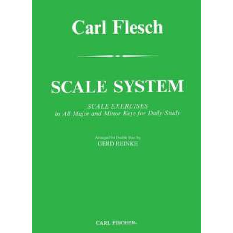 Titelbild für CF -O5199 - SCALE SYSTEM - SCALE EXERCISES