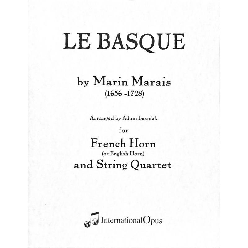 Titelbild für ADV -HN-9515 - LE BASQUE