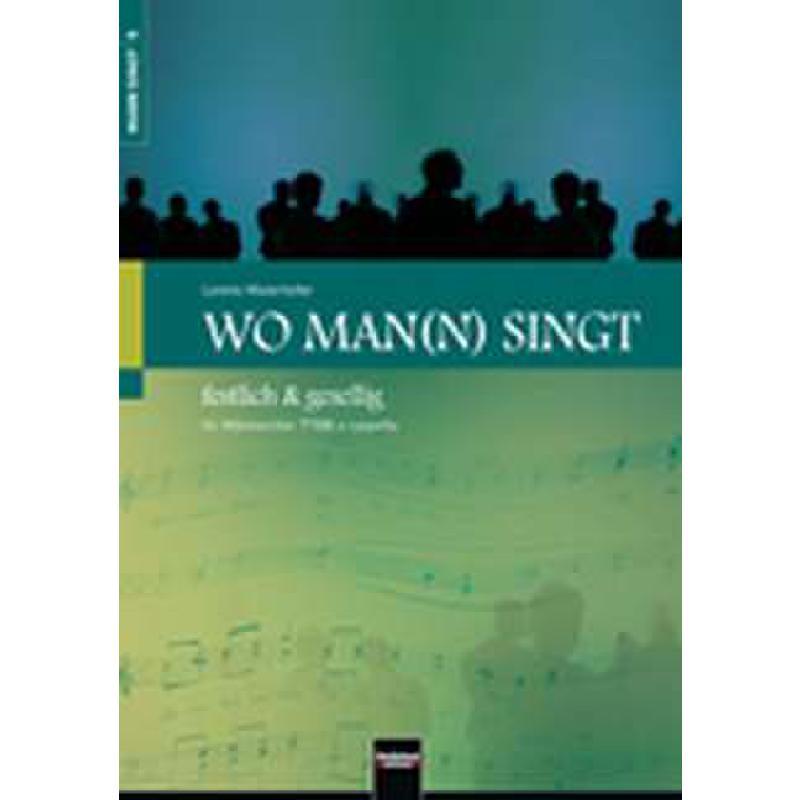 Titelbild für HELBL -C6057 - WO MAN(N) SINGT - FESTLICH & GESELLIG