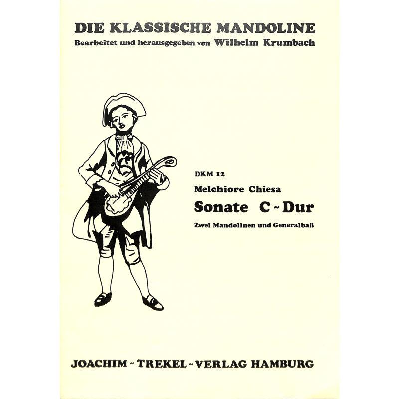 Titelbild für TREKEL -DKM12 - SONATE C-DUR