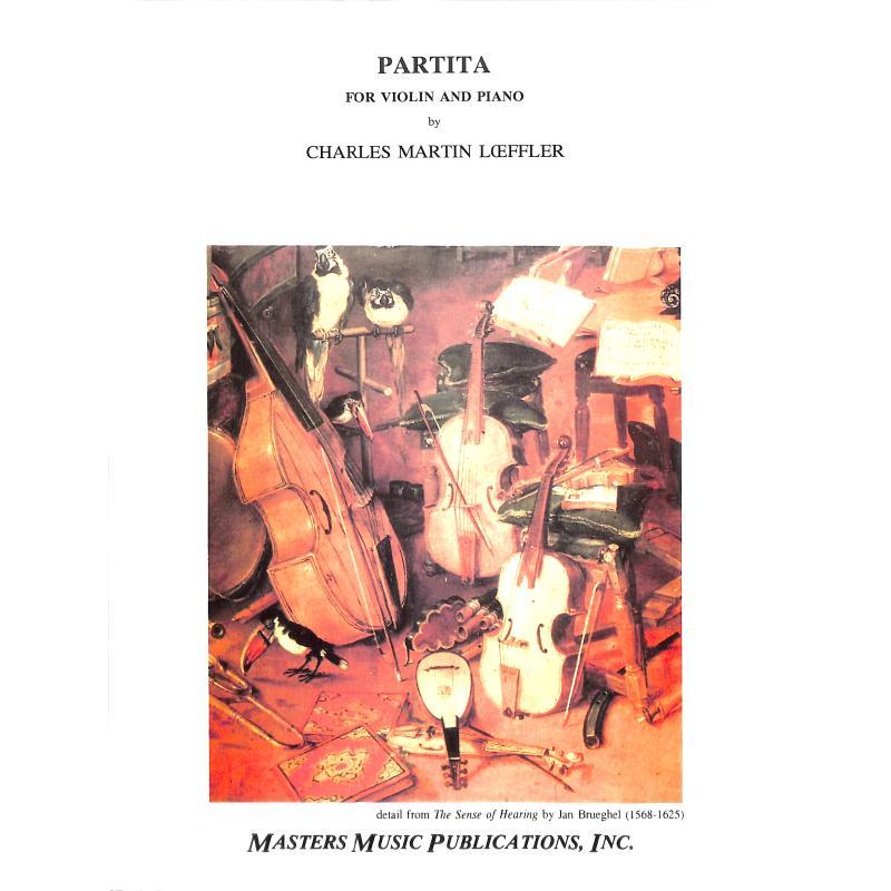 Titelbild für MMP 3251 - PARTITA