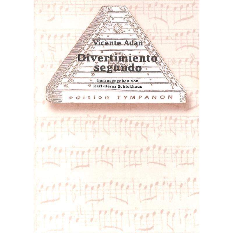 Titelbild für ET 32 - DIVERTIMENTO SEGUNDO D-DUR