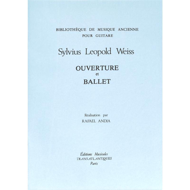 Titelbild für ETR 1668 - Ouvertüre + Ballet