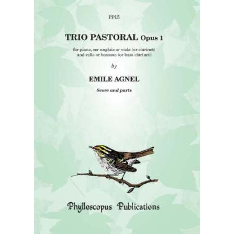 Titelbild für PHYLL -PP15 - TRIO PASTORAL OP 1