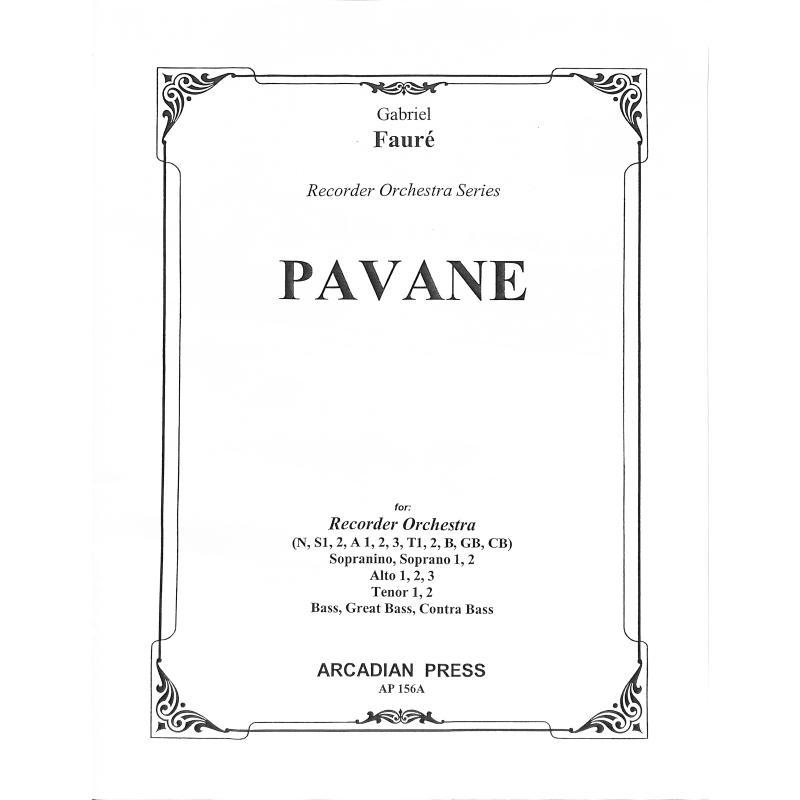 Titelbild für ARCADIAN 156A - PAVANE OP 50