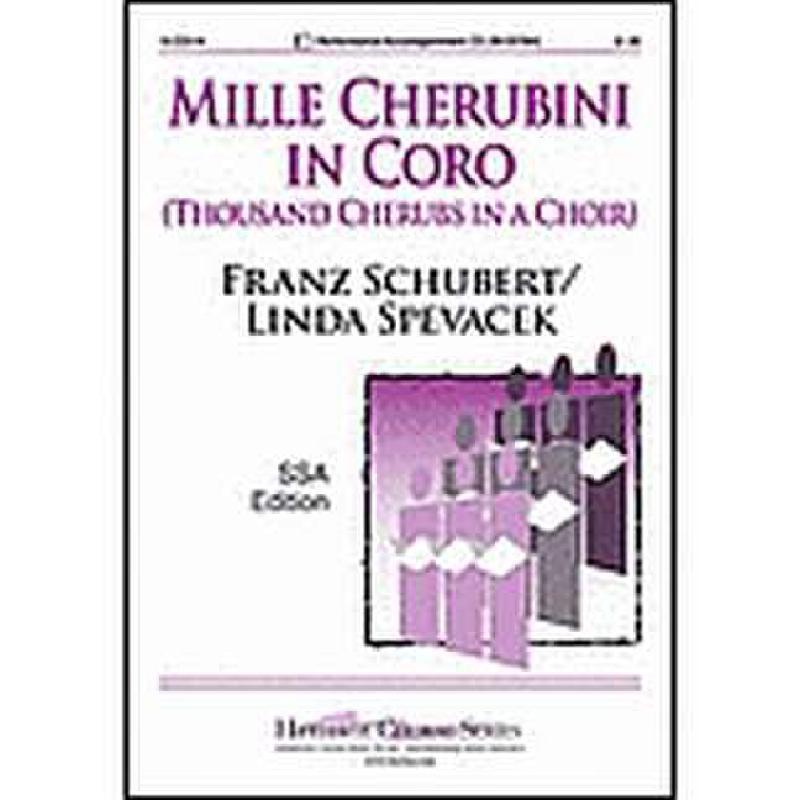 Titelbild für LORENZ 15-2251H - MILLE CHERUBINI IN CORO (WIEGENLIED NACH 98/2)