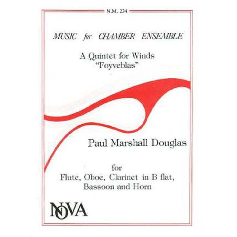 Titelbild für NOVA 234 - A QUINTET FOR WINDS (FOYVEBLAS)