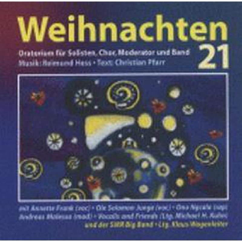 Titelbild für VS 1847-CD - WEIHNACHTEN 21