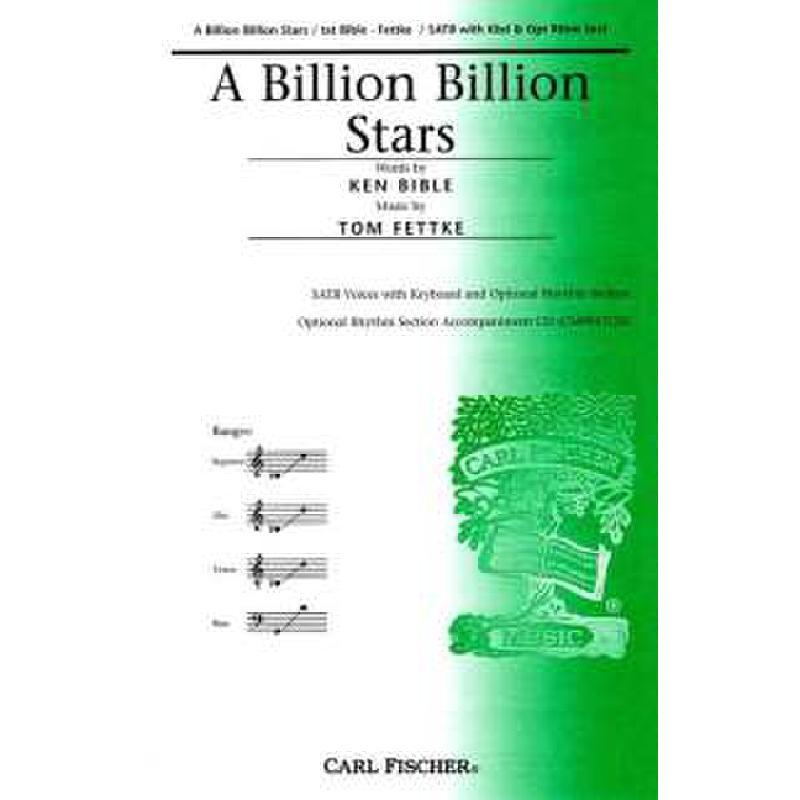 Titelbild für CF -CM9017 - A BILLION BILLION STARS