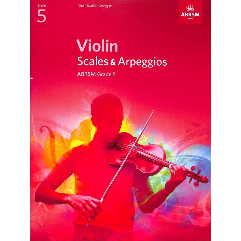 Titelbild für 978-1-84849-342-1 - Violin Scales + Arpeggios 5
