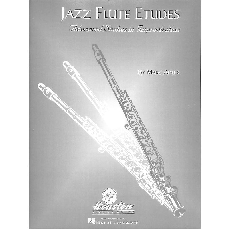 Titelbild für HL 30442 - JAZZ FLUTE ETUDES