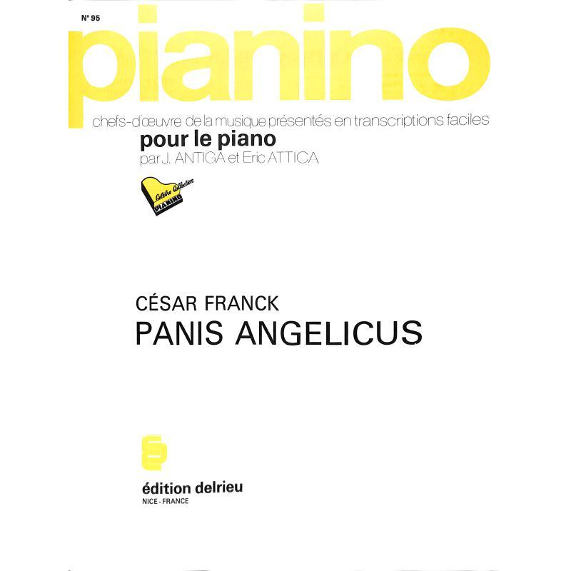 Titelbild für DELRIEU -PIA95 - PANIS ANGELICUS