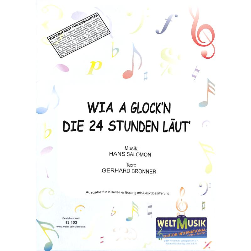 Titelbild für WM 13103 - WIA A GLOCK'N DIE 24 STUNDEN LAEUT