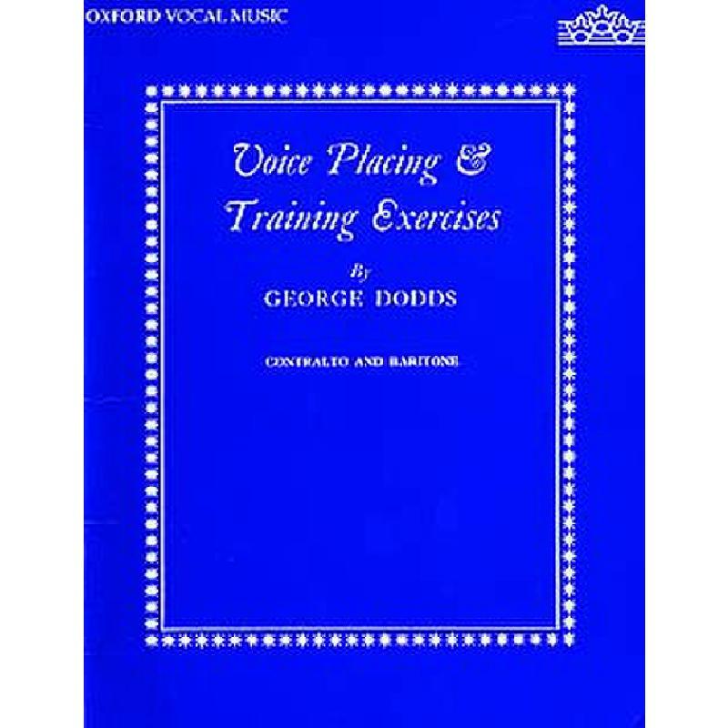Titelbild für ISBN 0-19-322141-1 - VOICE PLACING & TRAINING EXERCI