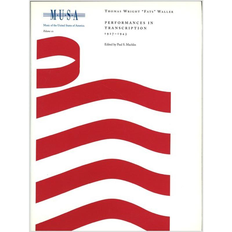 Titelbild für AREDITION -A041 - Performances in transcription 1927-1943