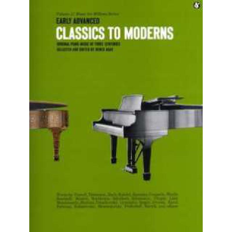 Titelbild für MSAM 41674 - EARLY ADVANCED CLASSICS TO MODERNS 47