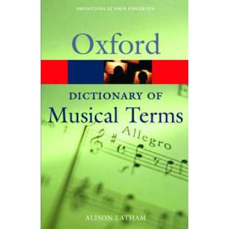 Titelbild für 978-0-19-860698-7 - OXFORD DICTIONARY OF MUSICAL TERMS